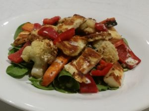 7day - Haloumi Roast Veg
